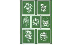 クイックステンシルシール(全5種)